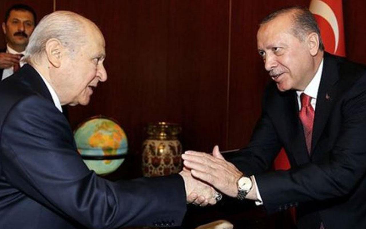 MHP lideri Devlet Bahçeli'den Cumhurbaşkanı Erdoğan'a tebrik mesajı! 3. yıldönümünü kutladı