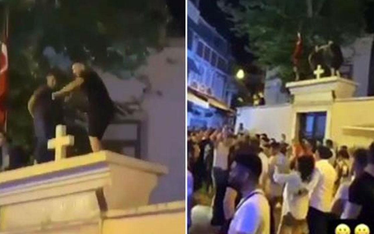 Kilise duvarında dans eden 3 şahıs hakkında karar verildi
