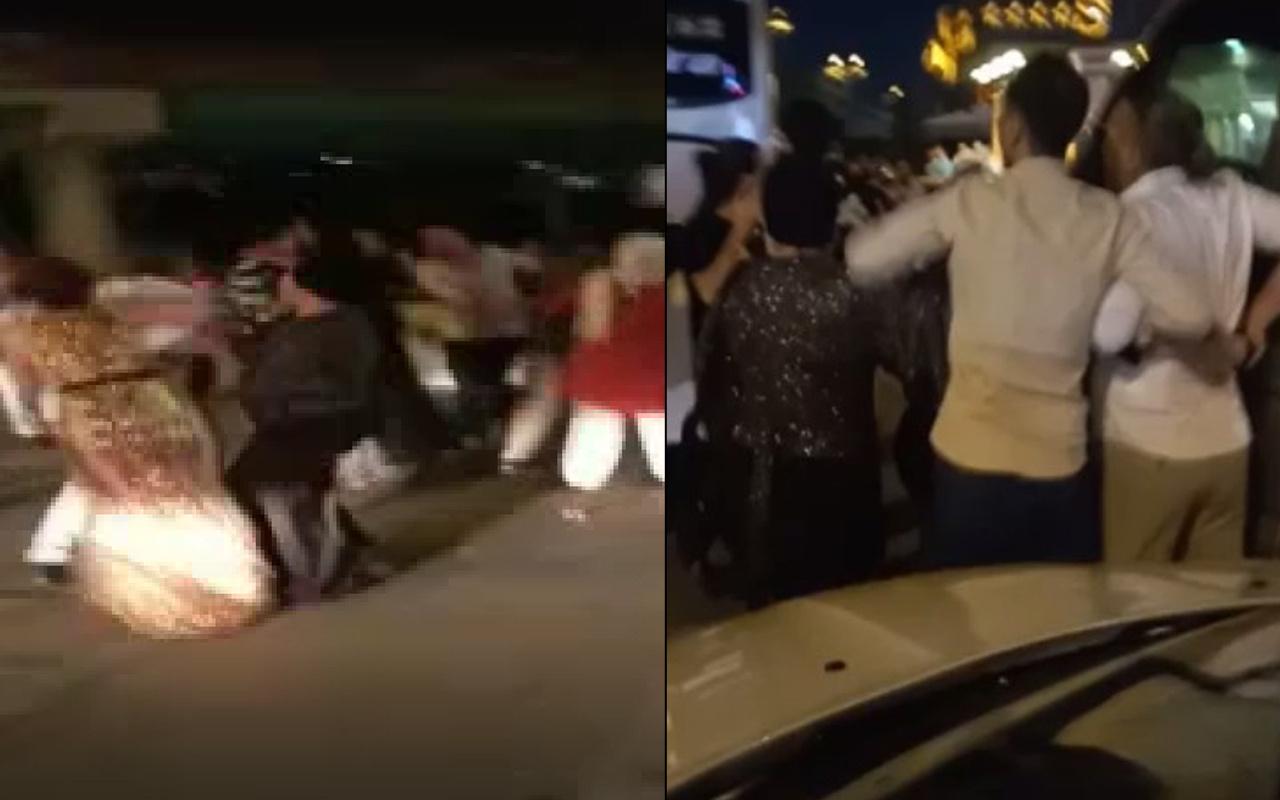 Düğünde gelinin kız kardeşine taciz ortalığı karıştırdı! İstanbul'da gelin damat tarafı birbirine girdi
