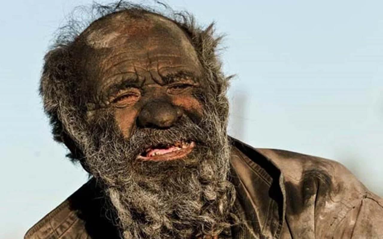 65 yıldır yıkanmayan adam! İranlı Amoo Hadji, dünyada tek bir şeyden zevk alıyor