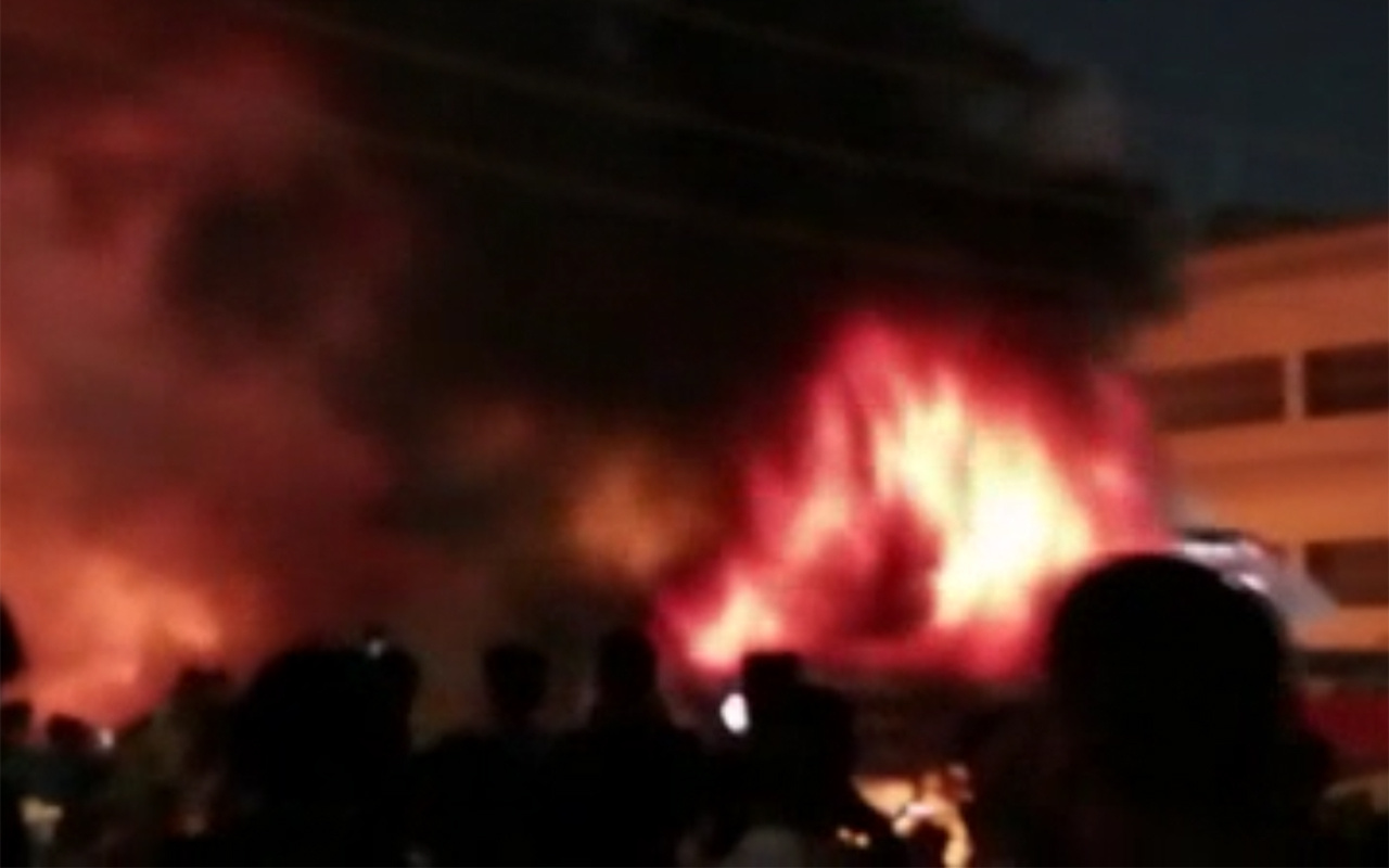 Irak'taki hastane yangınında ölü sayısı 36'ya yükseldi