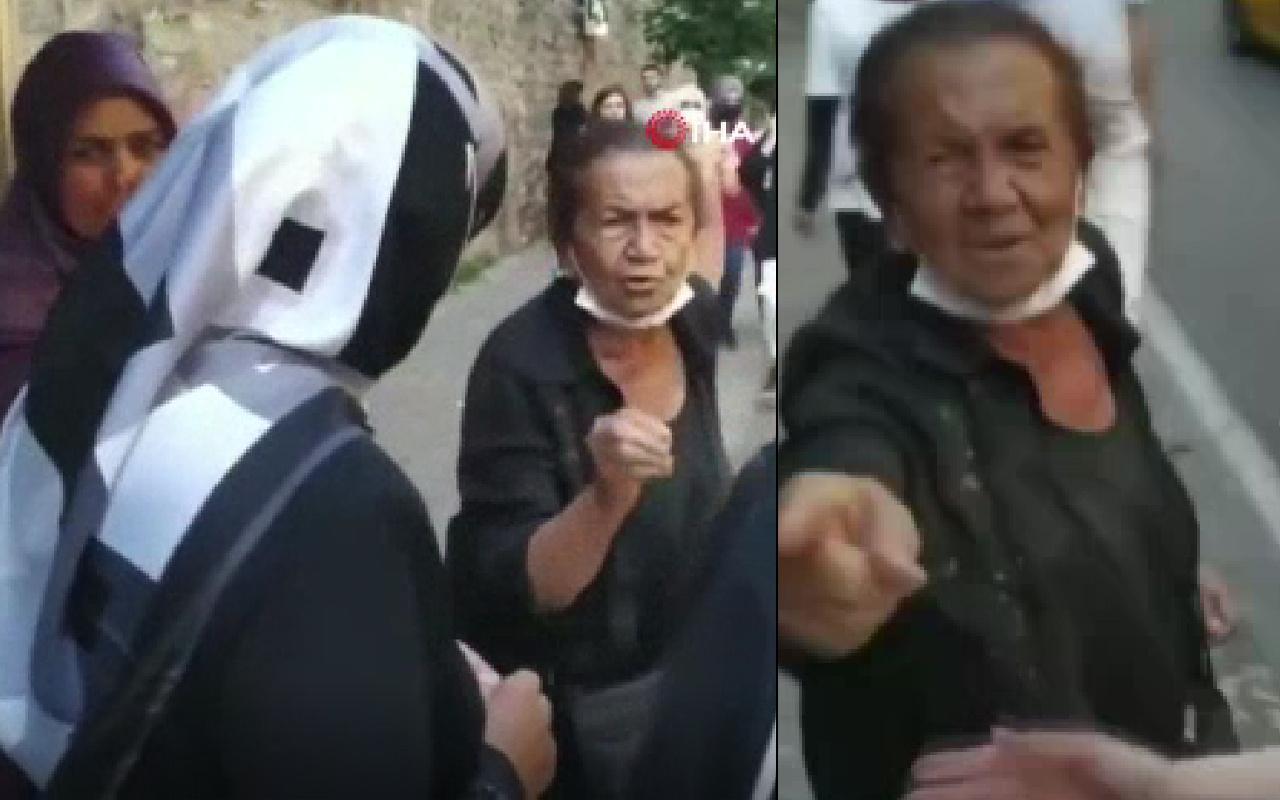 İstanbul'da başörtülü kadınlara skandal hakaretler: Kenar mahallenin...