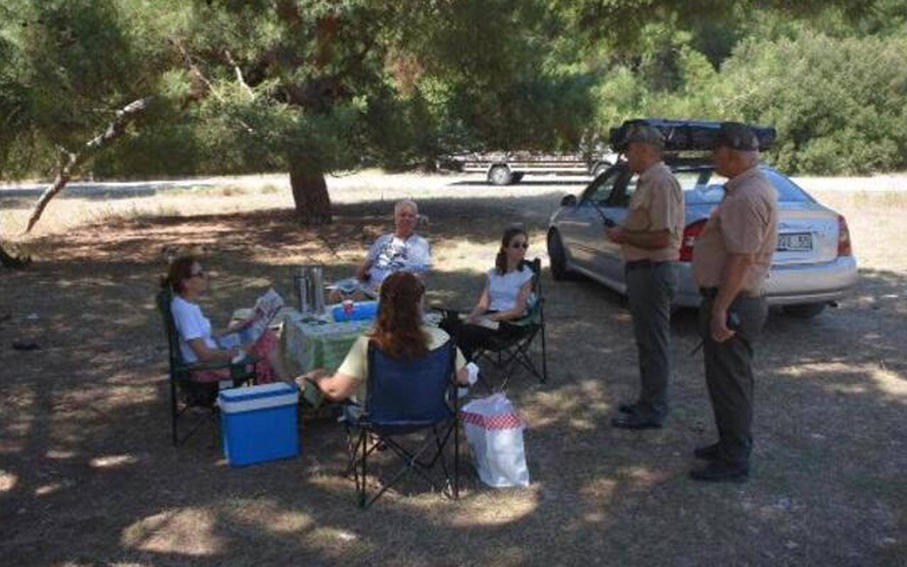 İzmir Valiliği kararı: Ormanlarda piknik, mangal, yürüyüş yasaklandı