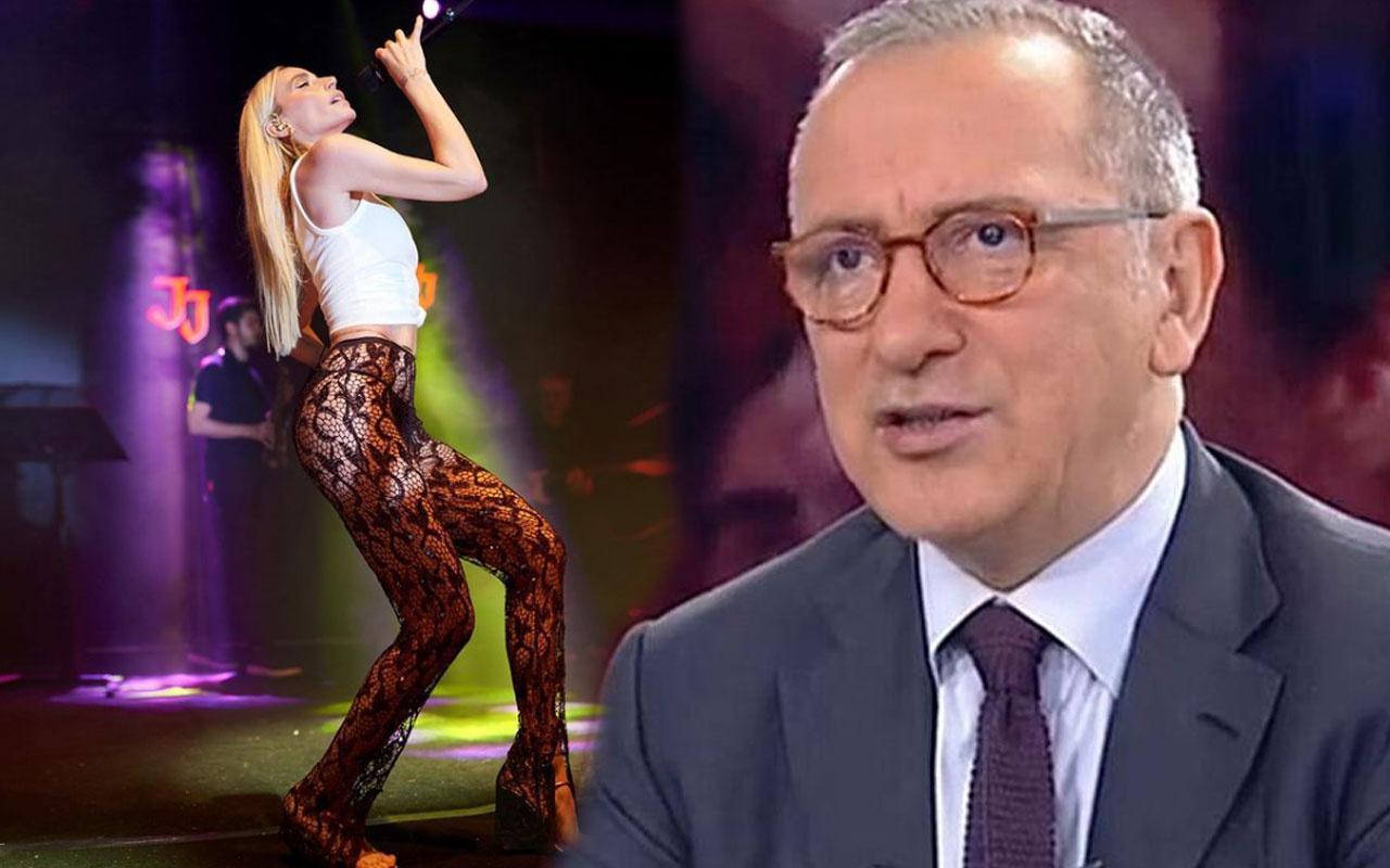 Gülşen'in seksi transparan pantolonuna Fatih Altaylı'dan 'Jennifer Lopez' savunması