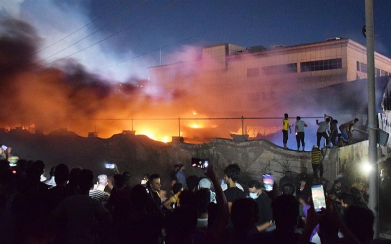 Irak'taki hastane yangını faciasında ölü sayısı çok yükseldi