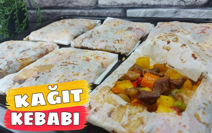Kurbanlık etle kağıt kebabı nasıl yapılır şahane lezzet!