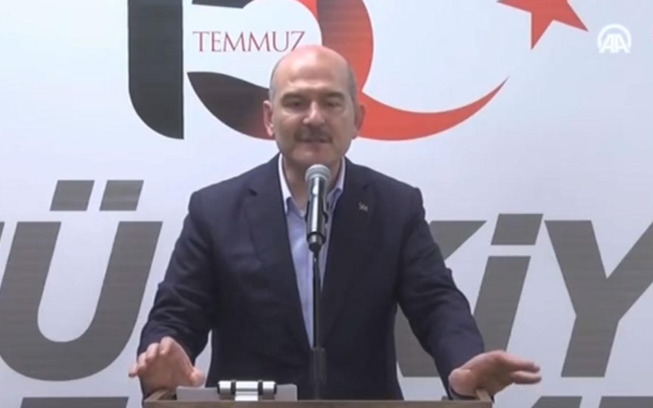 Süleyman Soylu'dan FETÖ'cülere gözdağı