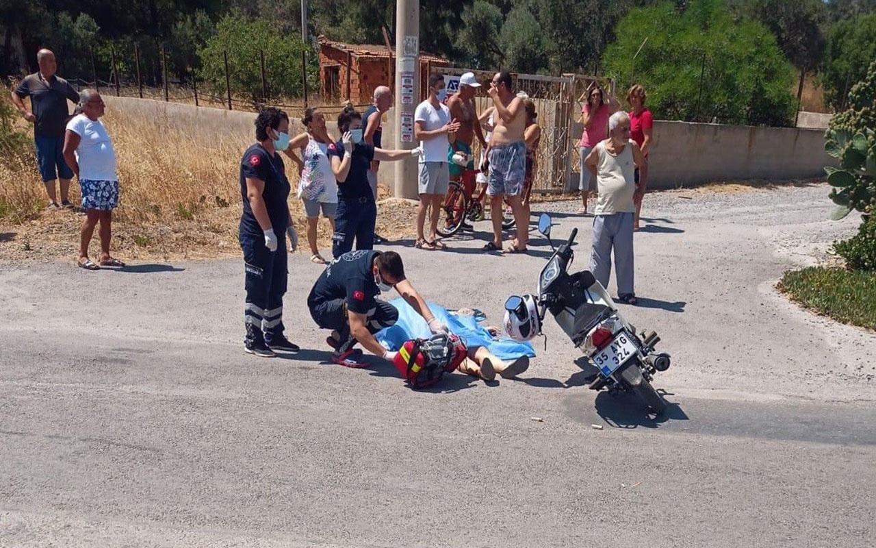 İzmir'de genç kadın motosiklet kullanırken eski sevgilisi tarafından öldürüldü
