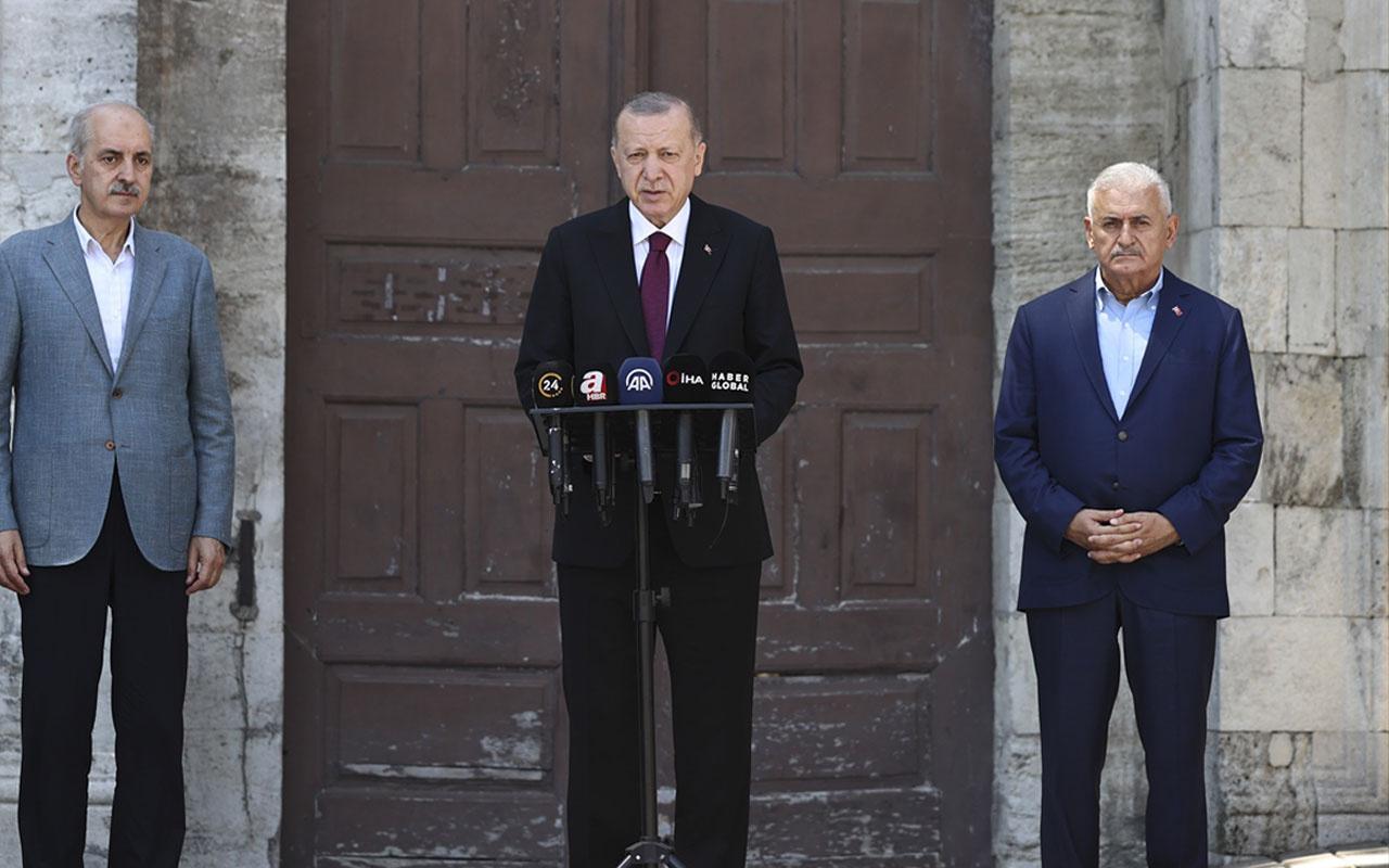 Cumhurbaşkanı Erdoğan: KKTC'de müjdem olacak