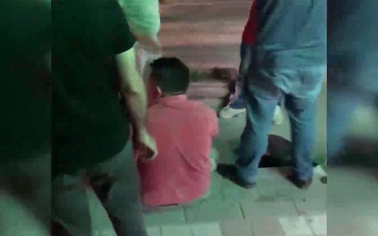 İstanbul Bağcılar'da taciz şüphelisine meydan dayağı