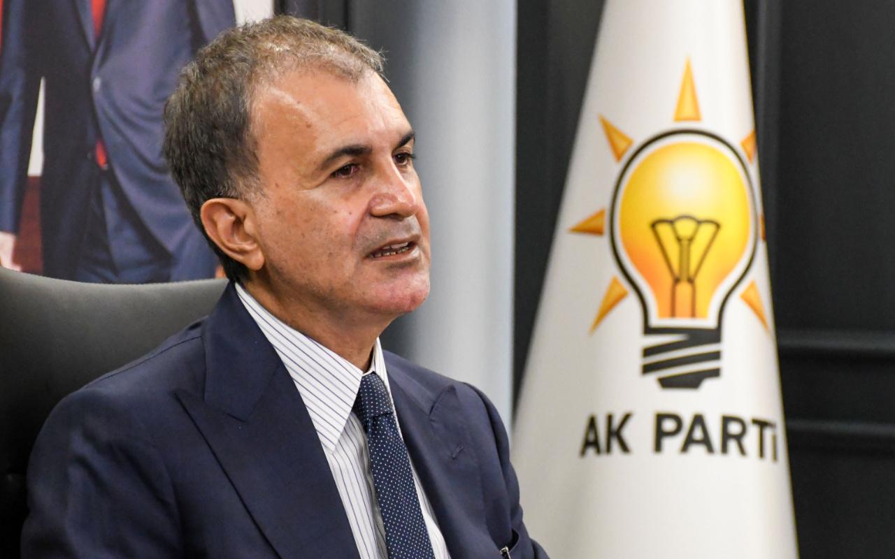 AK Parti Sözcüsü Ömer Çelik'ten AB'ye başörtüsü tepkisi