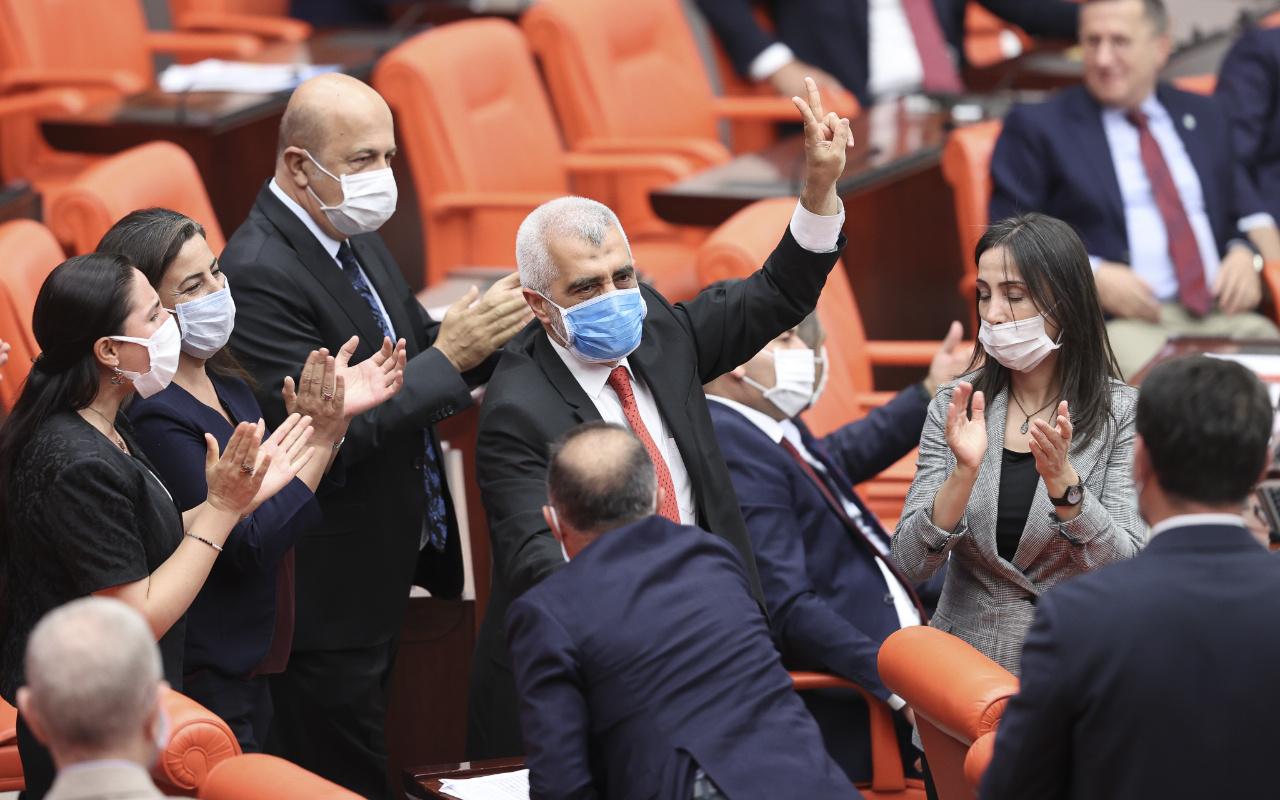 HDP'li Gergerlioğlu'nun meclisi provoke etmesine izin verilmedi