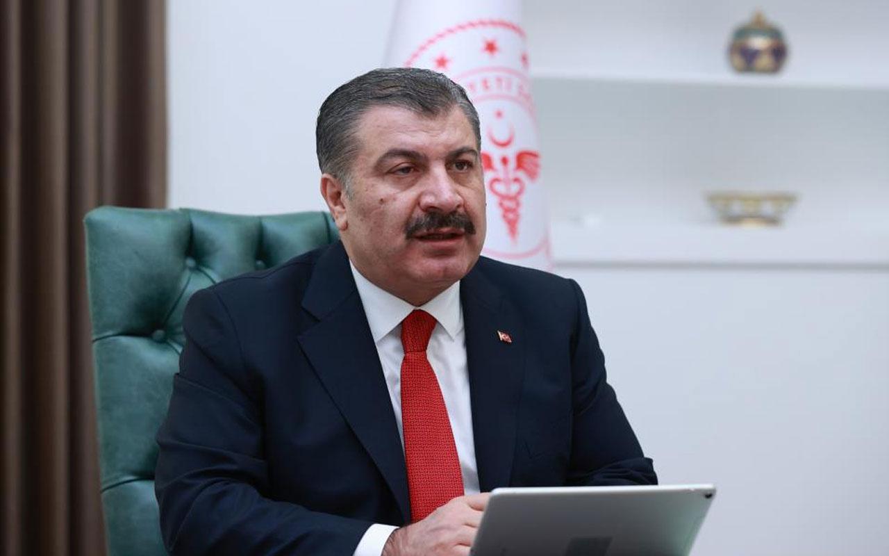 Bakan Fahrettin Koca: Aydın, İzmir ve Tekirdağ maviye yaklaştı