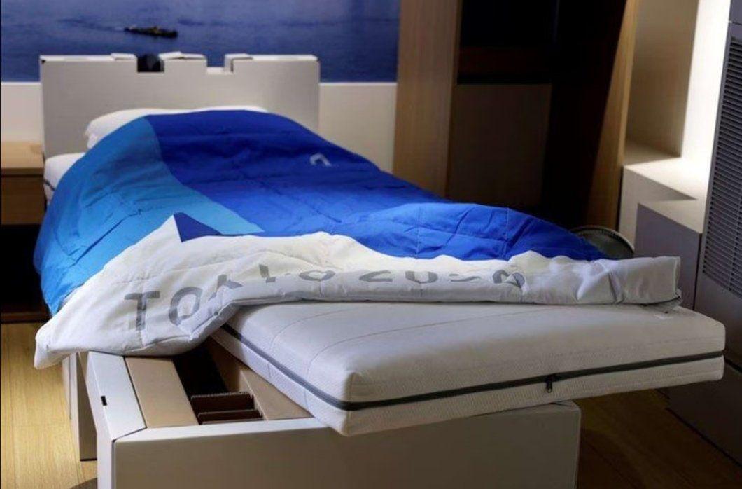 Tokyo Olimpiyatlarında antiseks yatak! Her şey korona önlemleri için!