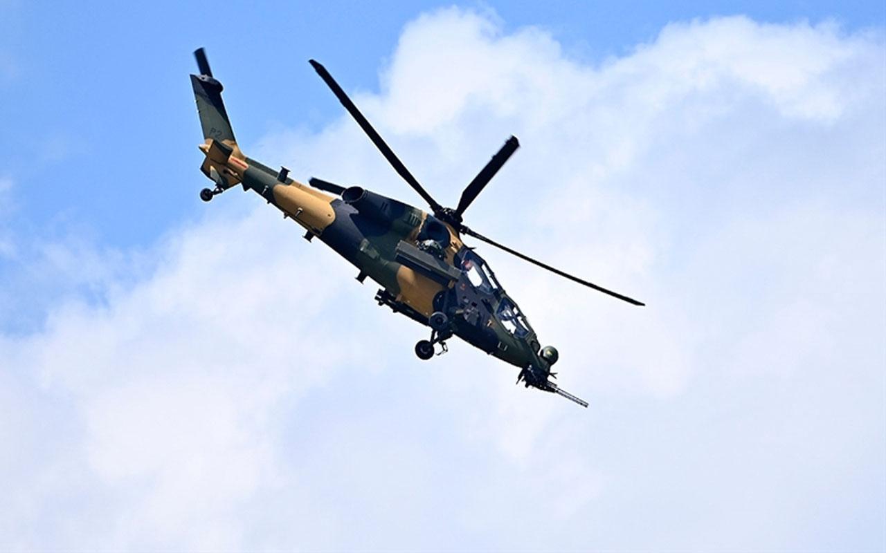 Metina'da 5 terörist ATAK helikopterleri tarafından etkisiz hale getirildi