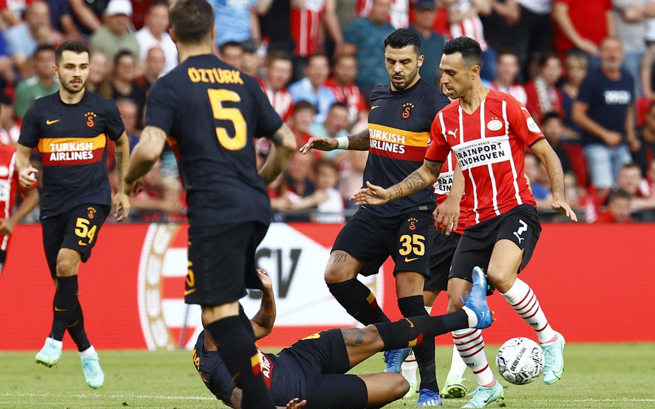 PSV - Galatasaray maçı sonucu: 5-1
