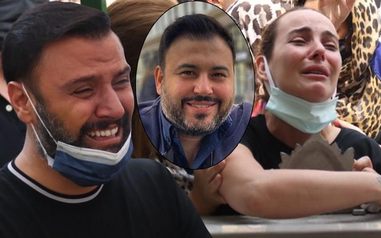 Alişan'ın en acı günü! Selçuk Tektaş'ın cenazesinde gözyaşları sel oldu: Ünlüler akın etti