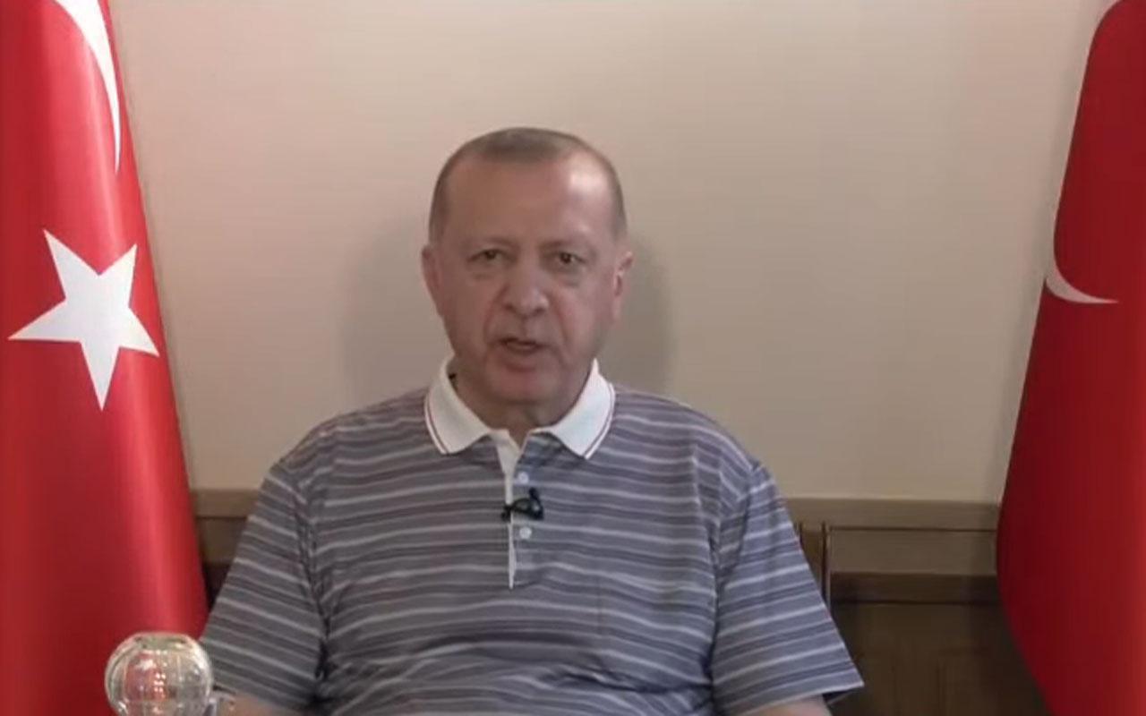 Cumhurbaşkanı Erdoğan'dan Covid-19 açıklaması