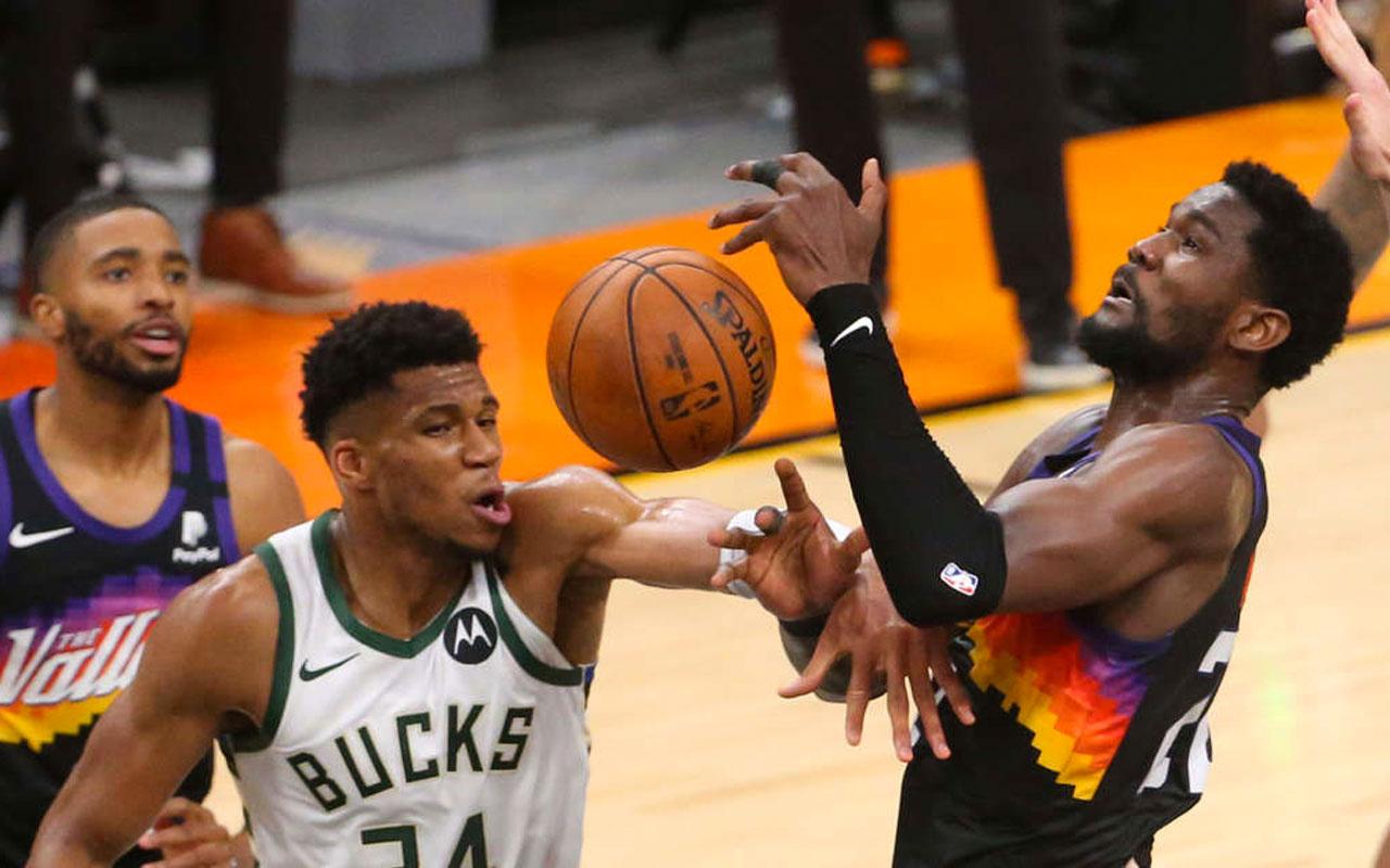 Milwaukee Bucks NBA şampiyonu oldu Giannis Antetokounmpo 50 sayı attı