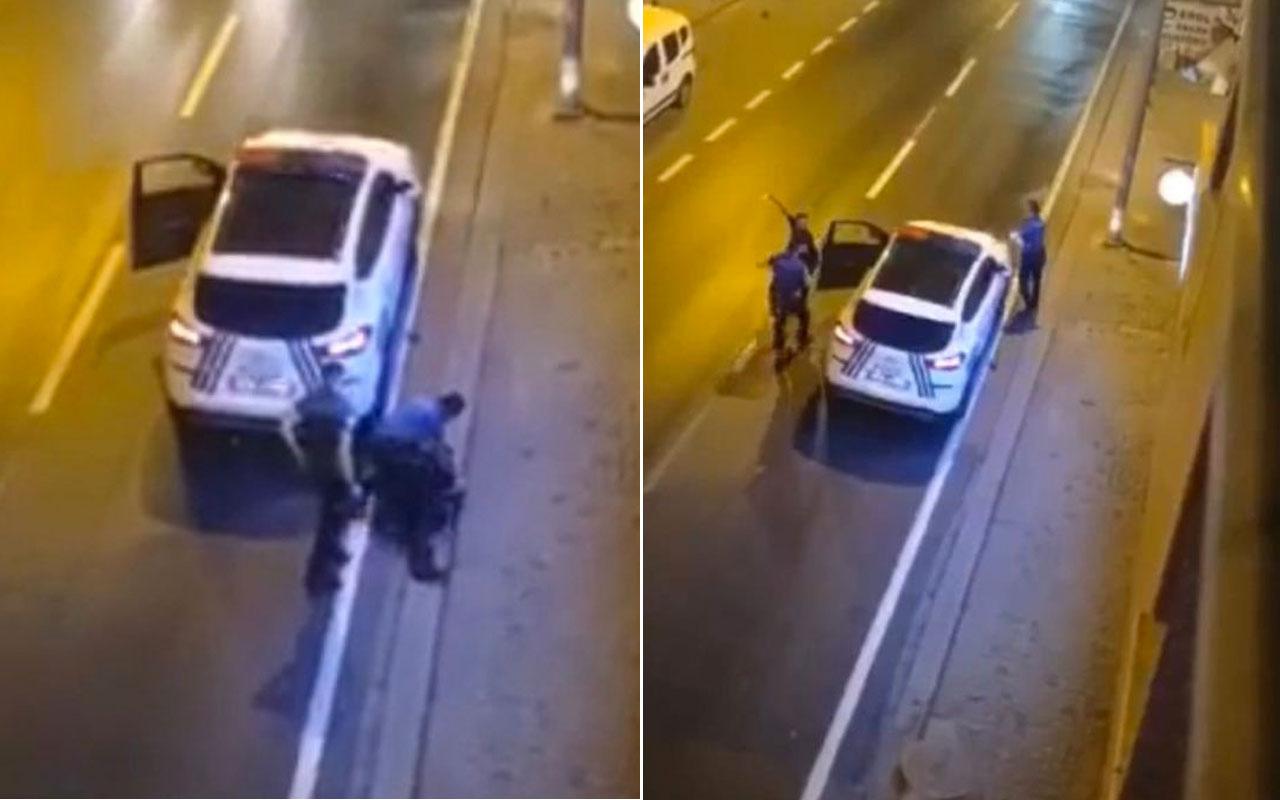 Ümraniye'de bıçaklı dehşet: Annesini bıçakladı ardından polislere saldırdı