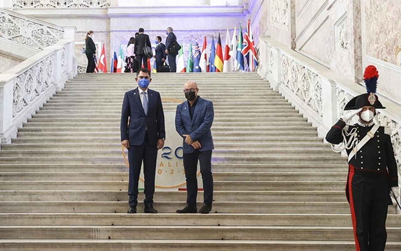 Bakan Kurum Avrupa Birliği Komisyonu Kıdemli Başkan Yardımcısı Frans Timmermans ile görüştü