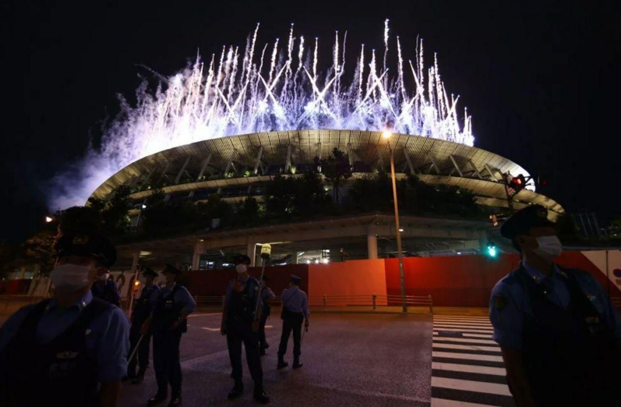 Tokyo Olimpiyatları'nda görkemli açılış! Olimpiyat tarihinde ilk yaşandı: Öldürülen 11 İsrailli...