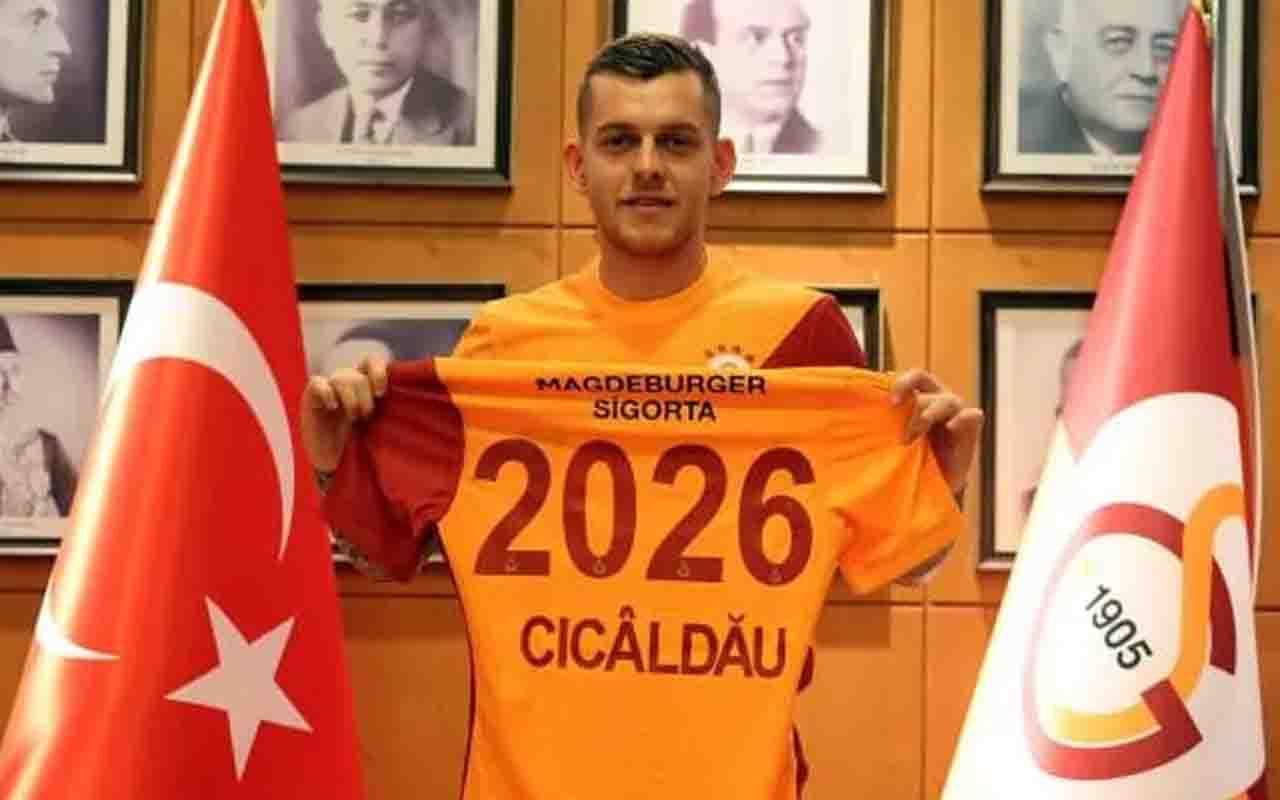 Alexandru Cicaldau, resmen Galatasaray'da