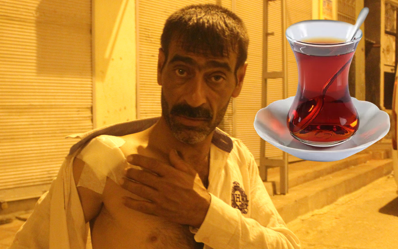Gaziantep'te evde çay içerken kabusu yaşadı: Bir anda kıyamet koptu