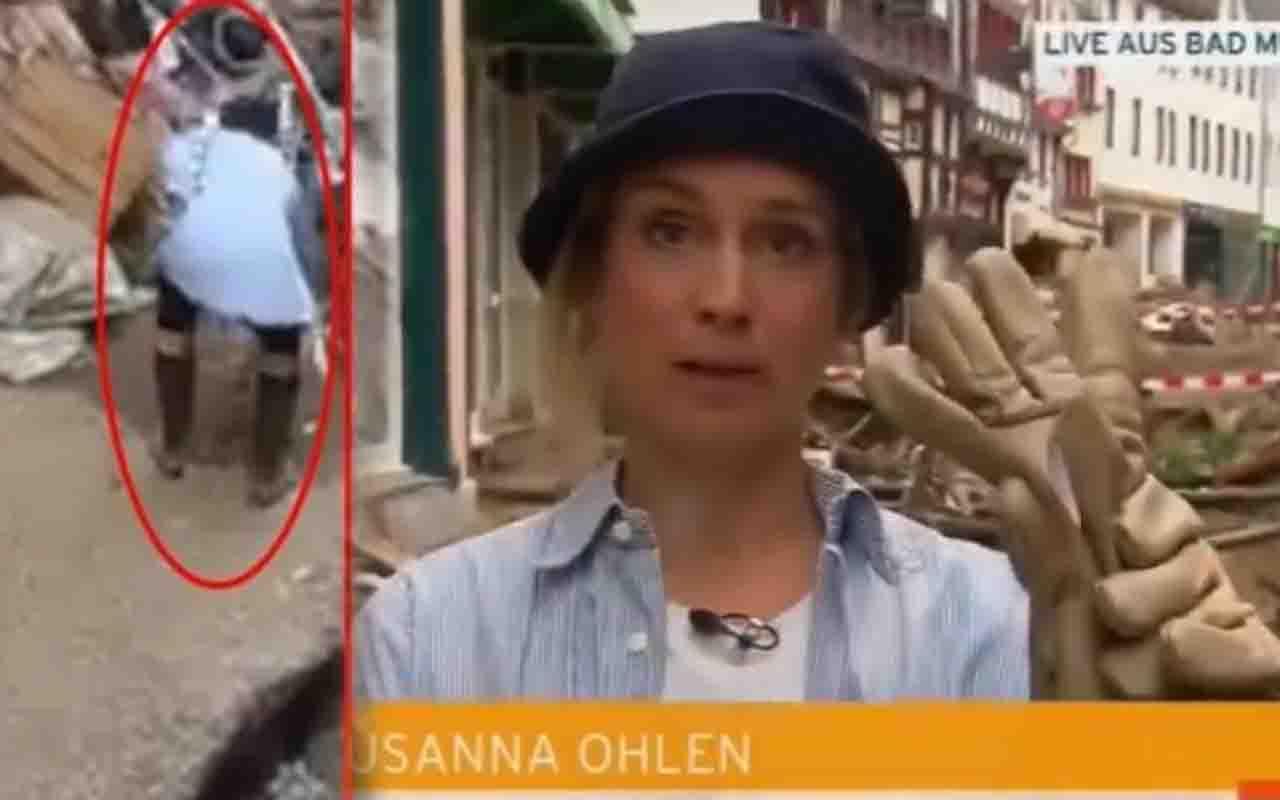 Almanya'da üzerine çamur süren muhabir 'utanmıştım' deyip özür diledi