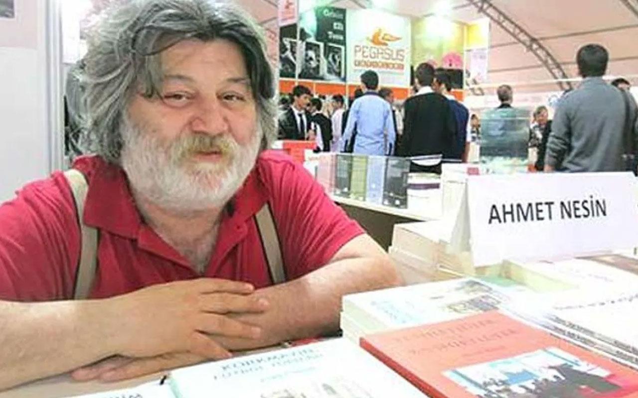 Ahmet Nesin beni Veyis Ateş'le karıştırıp bakın ne dedi?