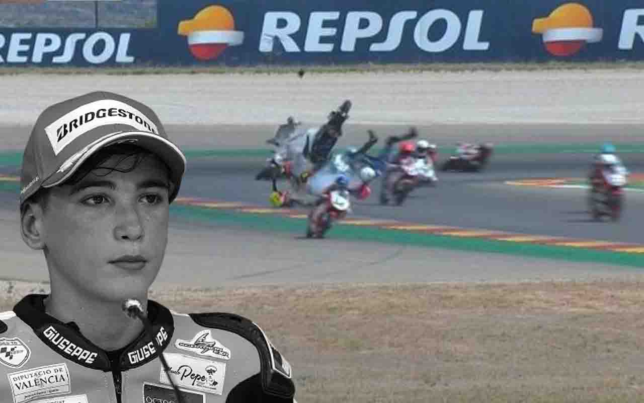 Motosikletçi Hugo Millan hayatını kaybetti! Yarıştaki kaza anı dehşete düşürdü