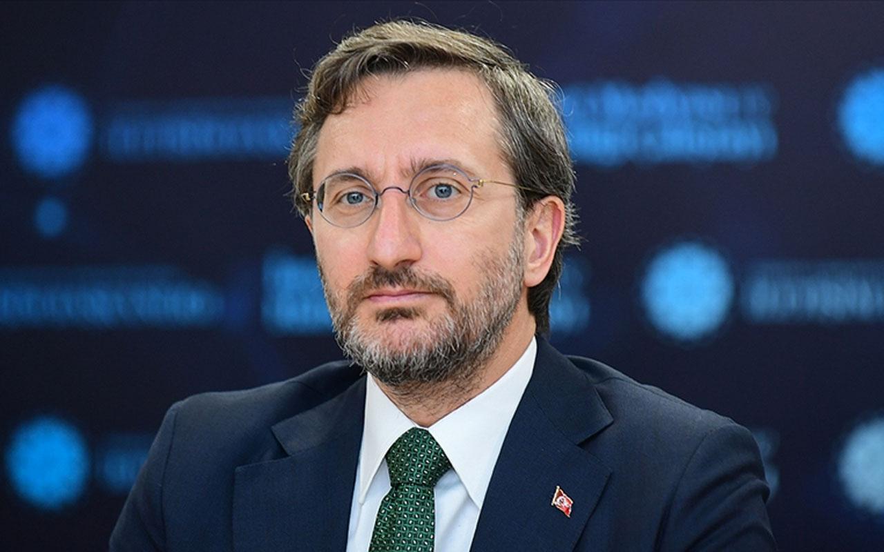 İletişim Başkanı Fahrettin Altun A Haber ekibine yapılan saldırıyı kınadı