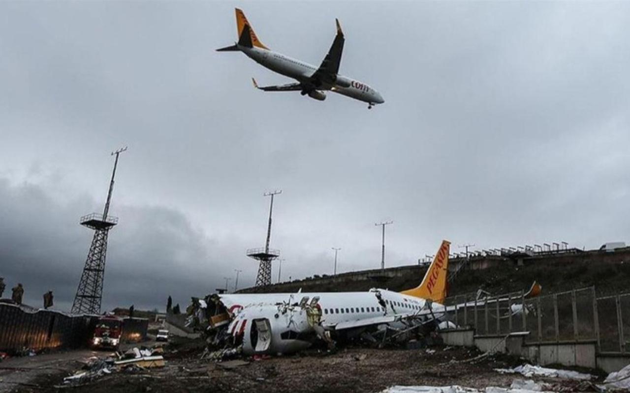 Pegasus uçağının pistten çıkmasına ilişkin kaza raporu tamamlandı