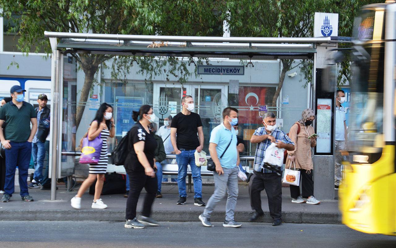 Bayram bitti mesai başladı, İstanbul güne trafikle uyandı