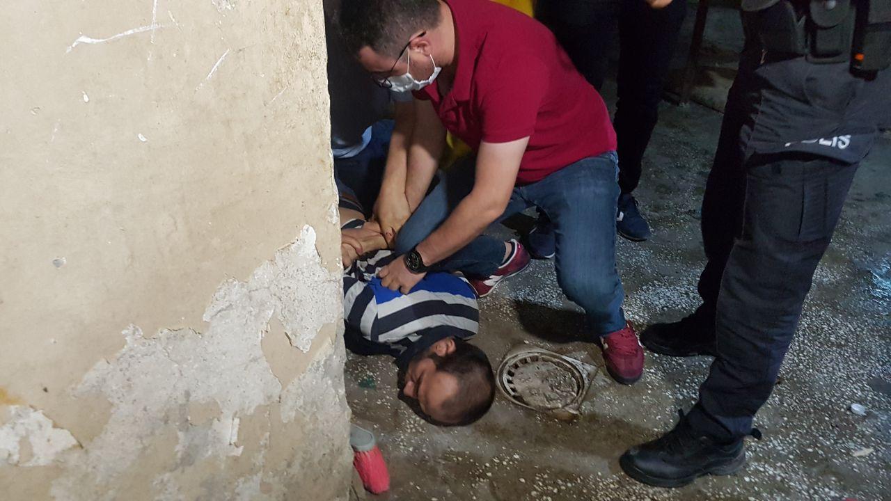 Adıyaman'da Suriyeli dehşeti!Annesini, eşini ve beş çocuğunu rehin aldı
