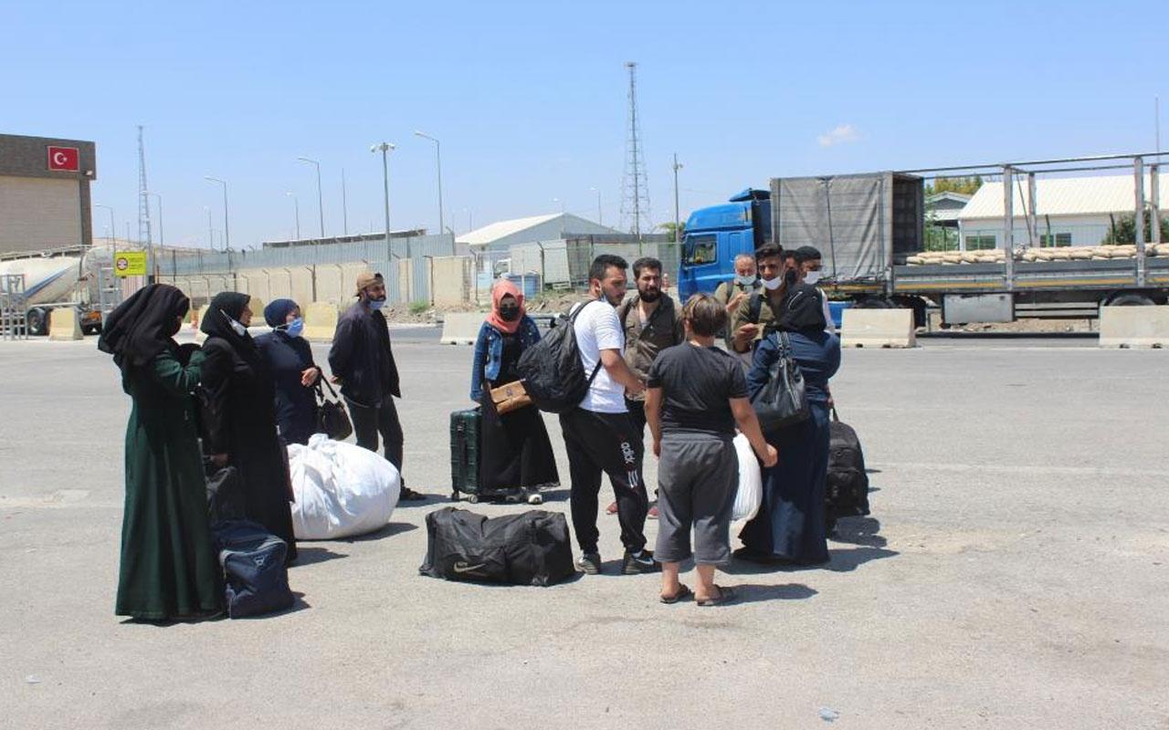 Suriyelilerin bayram dönüşleri başladı