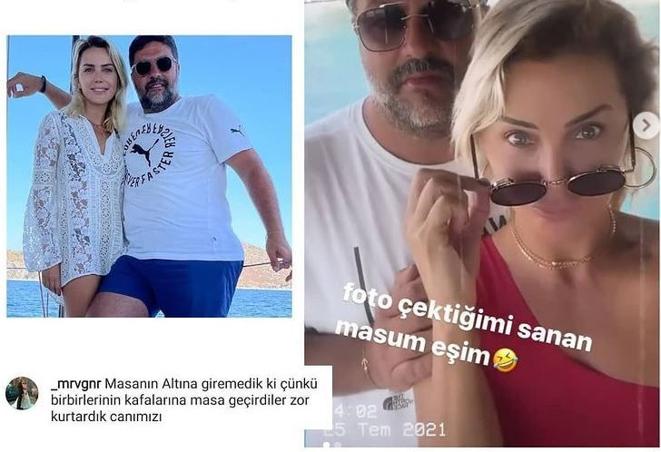 Ece Erken ve eşi Mahmut Yazıcıoğlu 19 bin liralık hesap ücretine isyan edince kavga çıktı!