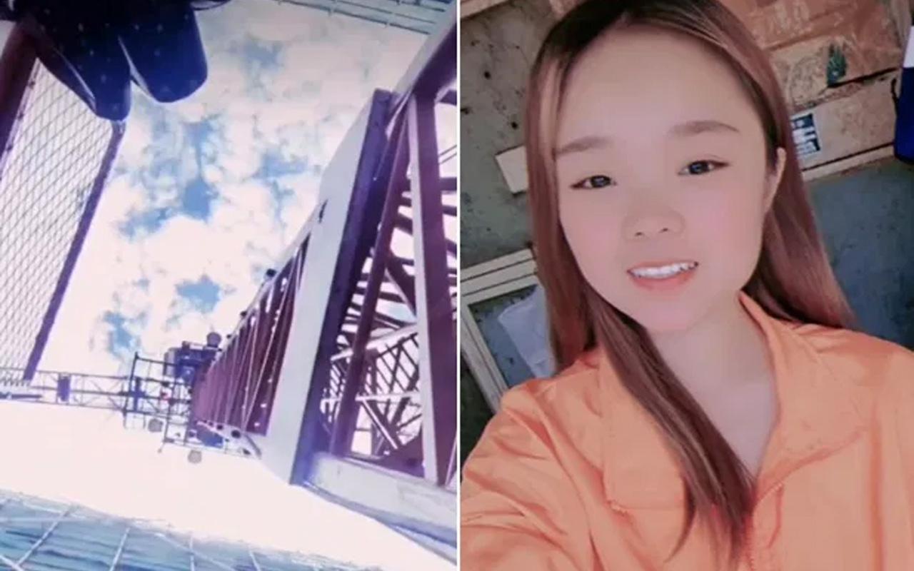 Sosyal medya fenomeni video çekerken 50 metrelik vinçten düştü! İşte dehşet anları...