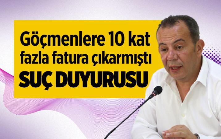 CHP'li Bolu Belediye Başkanı Özcan hakkında suç duyurusu