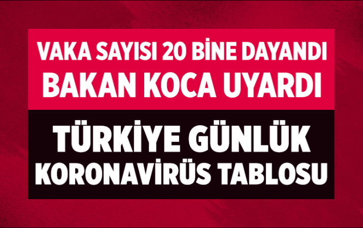 Türkiye 27 Temmuz 2021 koronavirüs vaka ve ölü sayısı! Sağlık Bakanlığı Covid-19 tablosu