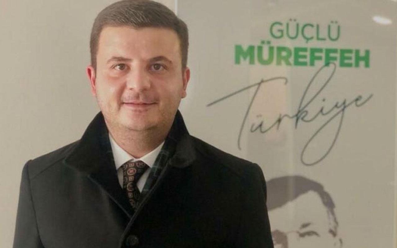 Gelecek Partisi Karaman İl Başkanı Kurtuluş Küçüksolak partisinden istifa etti