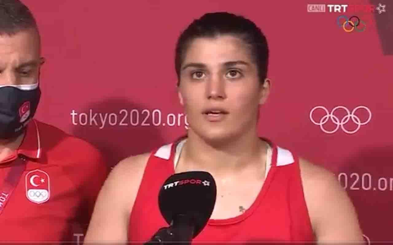 Busenaz Sürmeneli Tokyo Olimpiyatları'nda çeyrek finale yükseldi! Bir ilk gerçekleşti