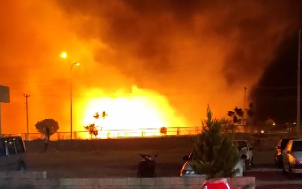 Adıyaman'da 16 farklı noktada birden yangın çıktı! 11 kişi hastanelik oldu