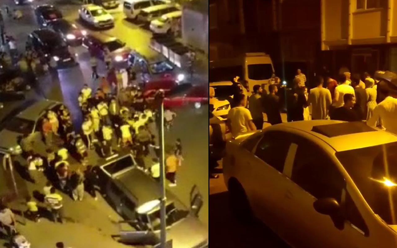 Vakalar patladı salgın unutuldu! İstanbul'da pes dedirten görüntüler