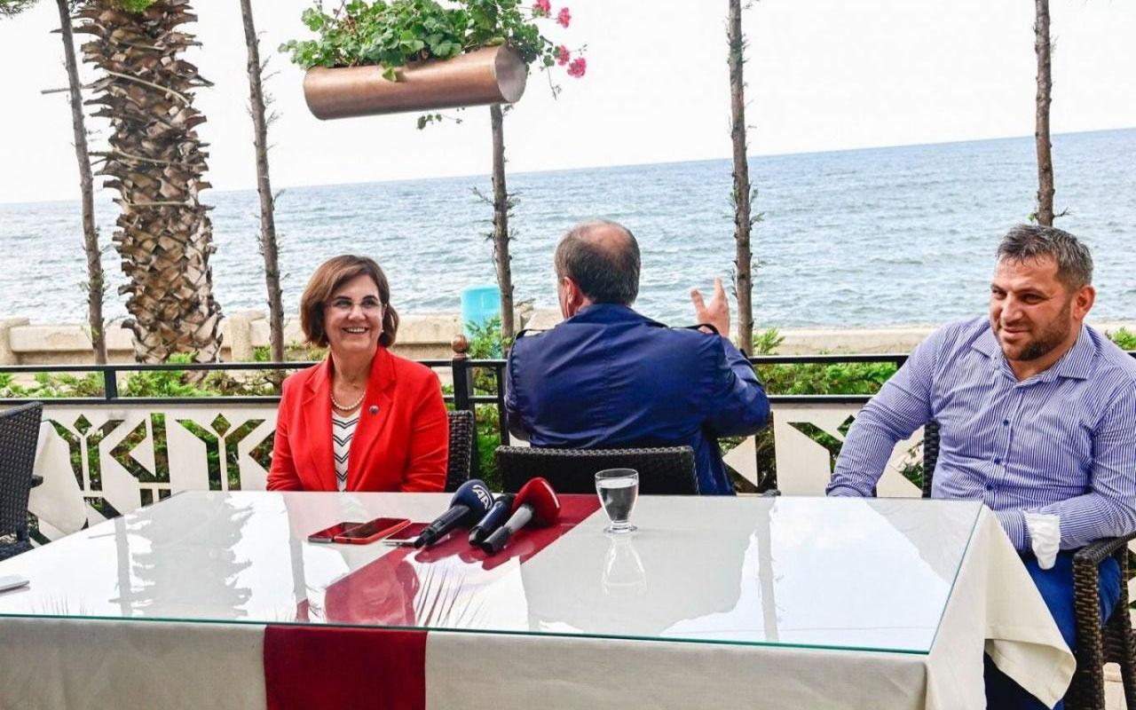Muharrem İnce Trabzon'da basın mensuplarına sırtını döndü!