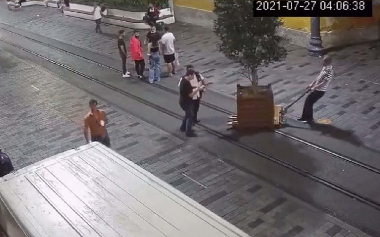 İmamoğlu'ndan Beyoğlu'nda saksı operasyonu! Beyoğlu Belediye Başkanı Haydar Ali Yıldız'dan tepki!