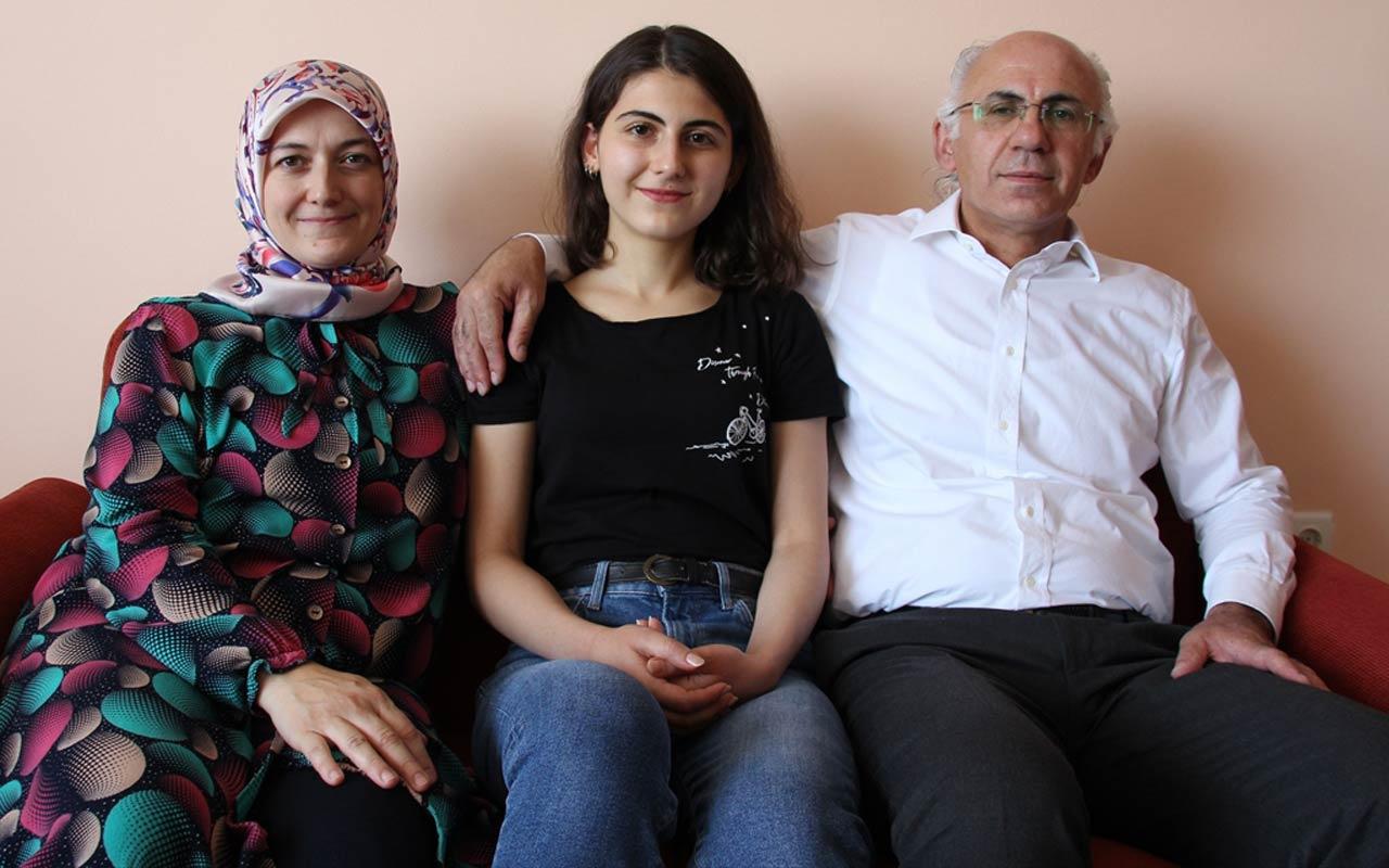 YKS'de AYT eşit ağırlık birincisi Konyalı Melike Demirbağ başarıya nasıl ulaştığını anlattı