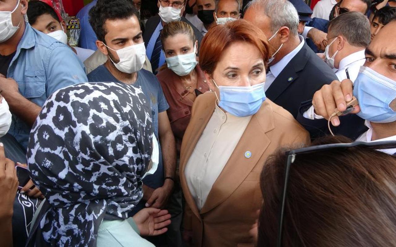Van'da vatandaşlar Meral Akşener'e isyan edip tepki gösterdi: Yani size zahmet