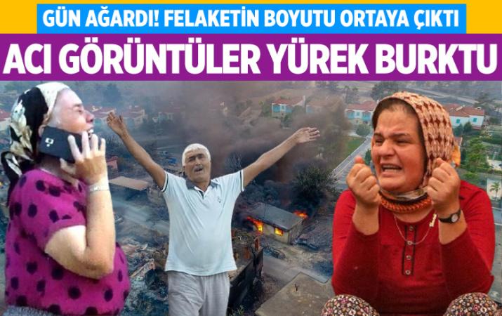 Antalya Manavgat'ta gün ağardı! Felaketin boyutu ortaya çıktı: Acı görüntüler yürek burktu