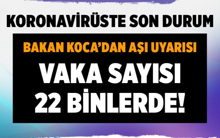 Türkiye 29 Temmuz 2021 koronavirüs vaka ve ölü sayısı! Sağlık Bakanlığı Covid-19 tablosu